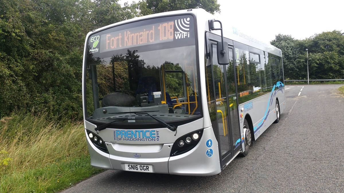 prentice of haddington - multi award winning bus & coach company